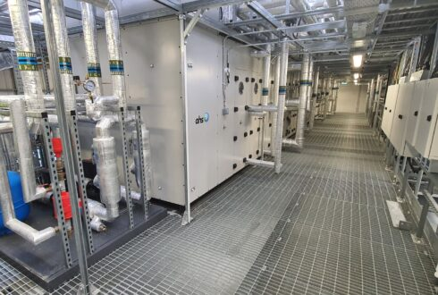 Mechanical HVAC fit-out project